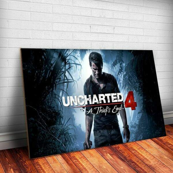Placa Decorativa Game Uncharted 5