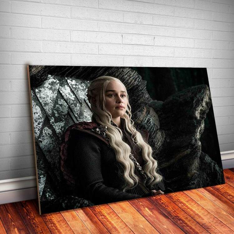 Placa decorativa Game Of Thrones 14 - Daenerys