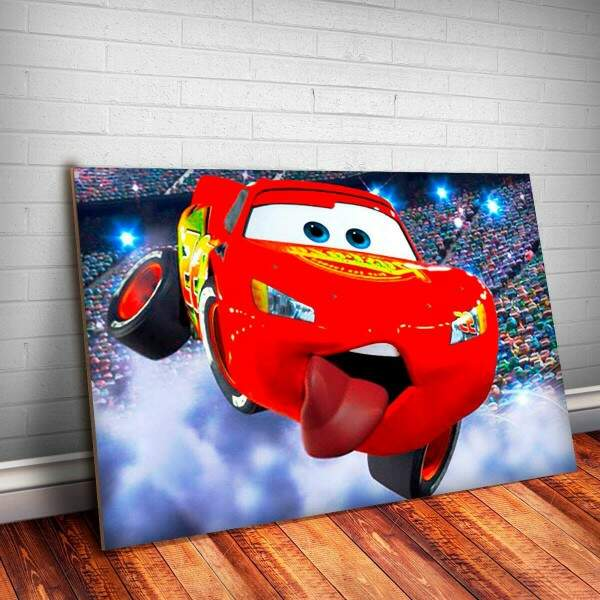 Placa Decorativa Filme Carros 2