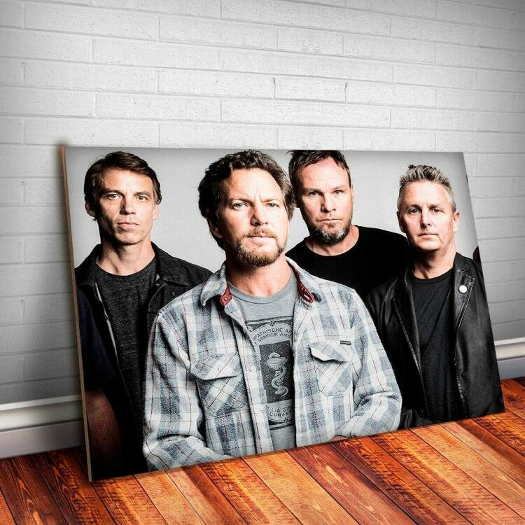 Placa Decorativa Pearl Jam 1