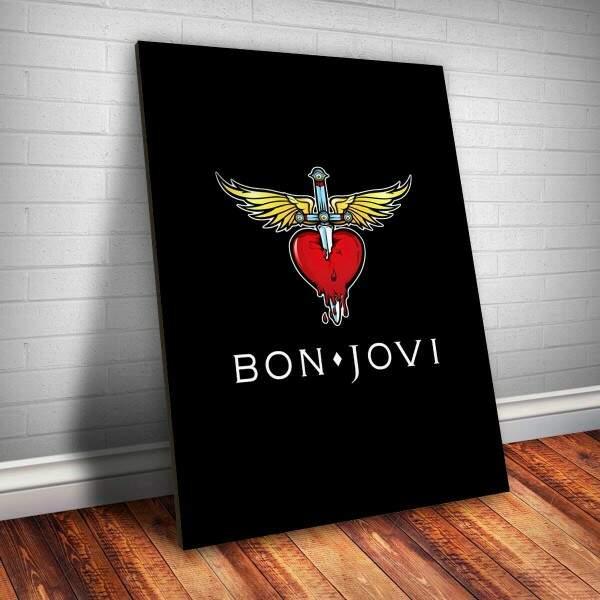 Placa Decorativa Bon Jovi 5