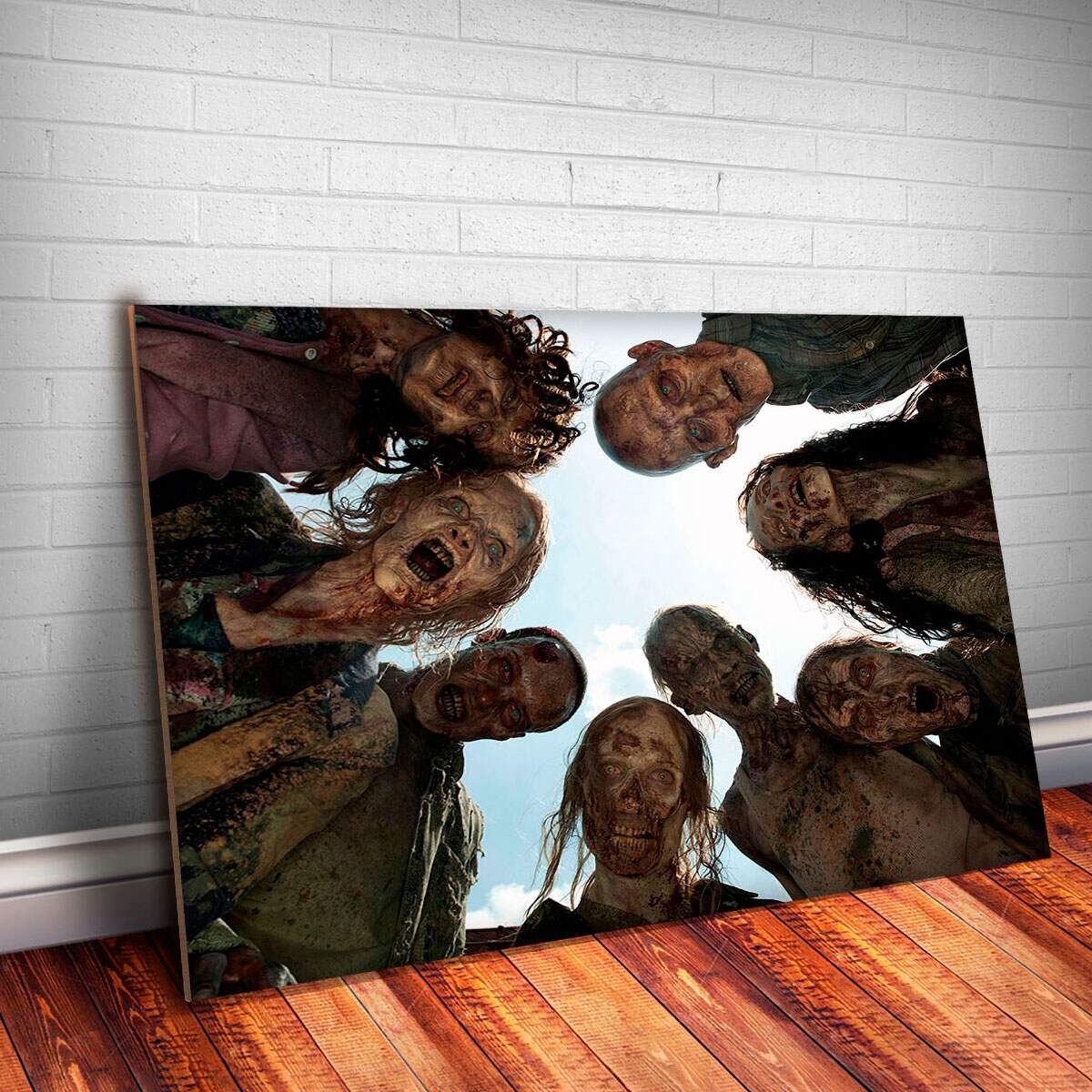 Placa Decorativa The Walking Dead 14