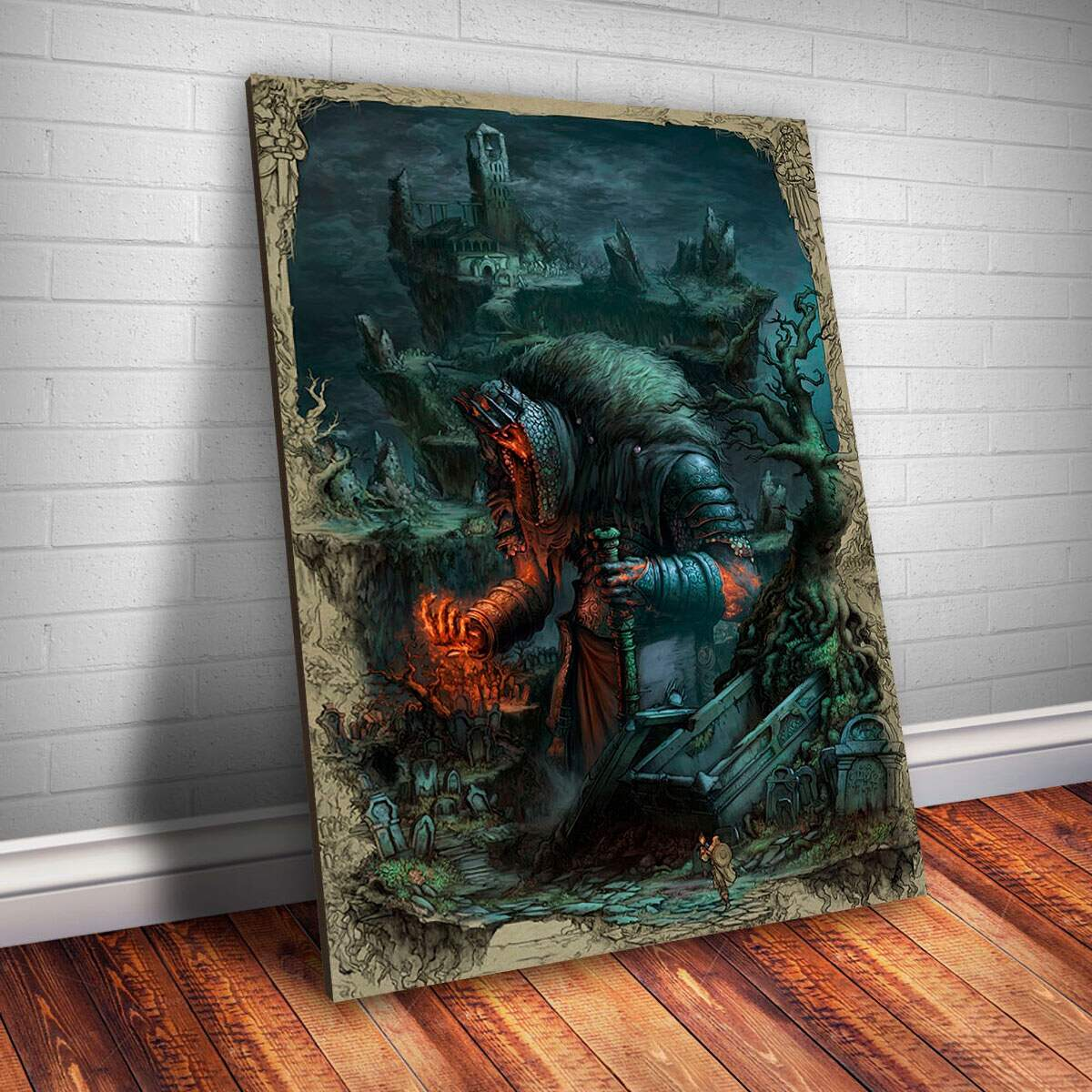 Placa Decorativa Dark Souls 9