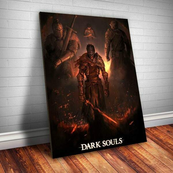 Placa Decorativa Dark Souls 17