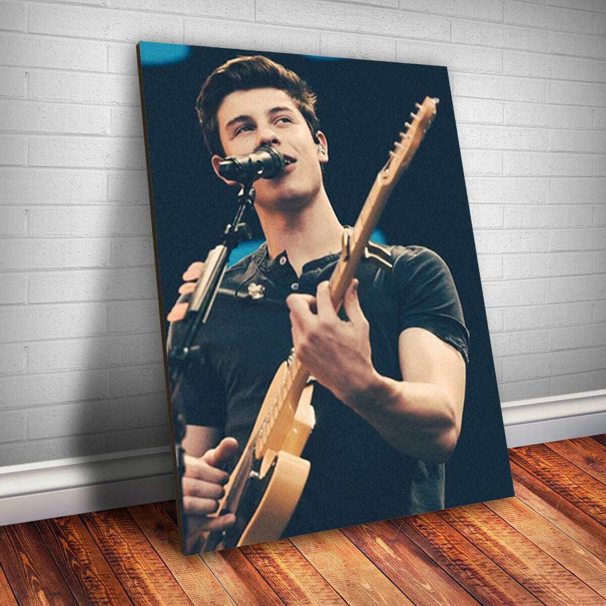 Placa Decorativa Shaw Mendes 4