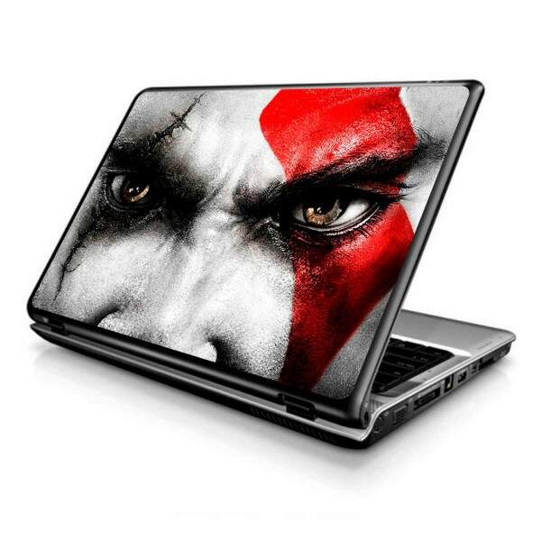 Adesivo para Notebook games god of war