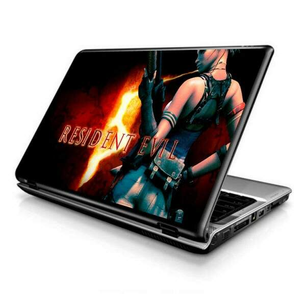 Adesivo para Notebook games resident evil