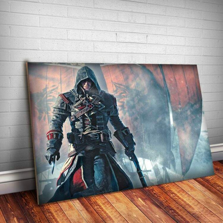 Placa Decorativa Assassins Creed 14