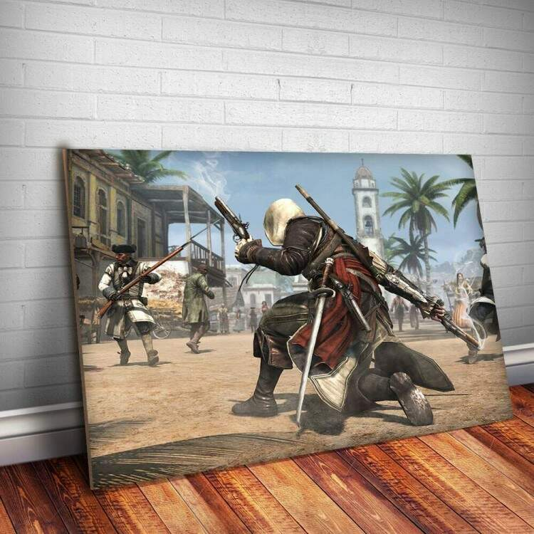 Placa Decorativa Assassins Creed 17