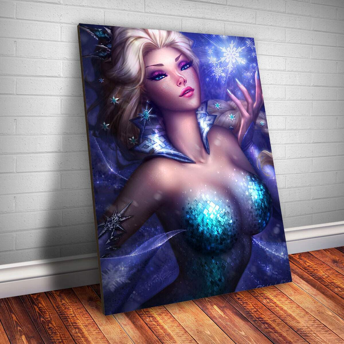 Placa decorativa Princesa 9 - Frozen