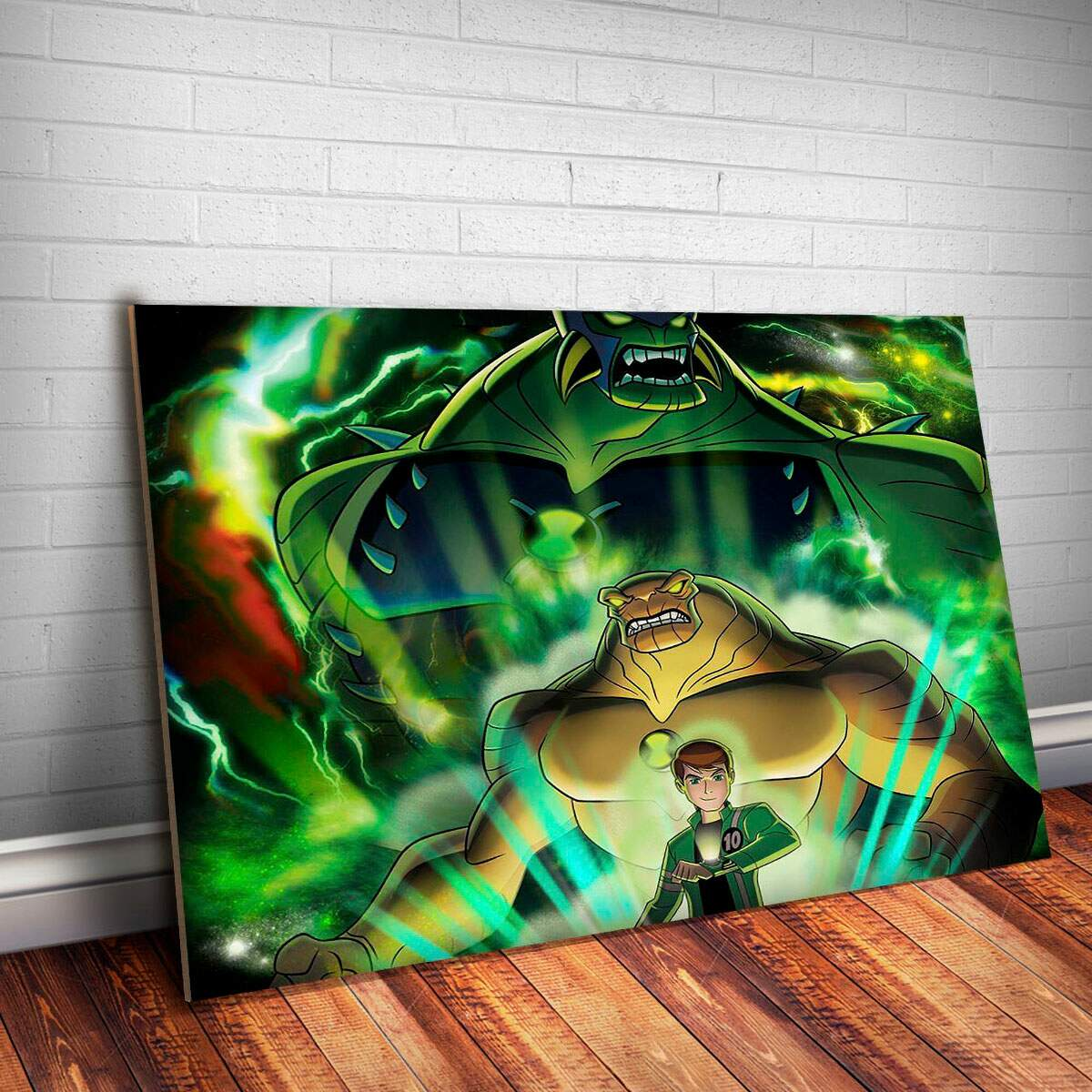 Placa Decorativa Ben 10 2