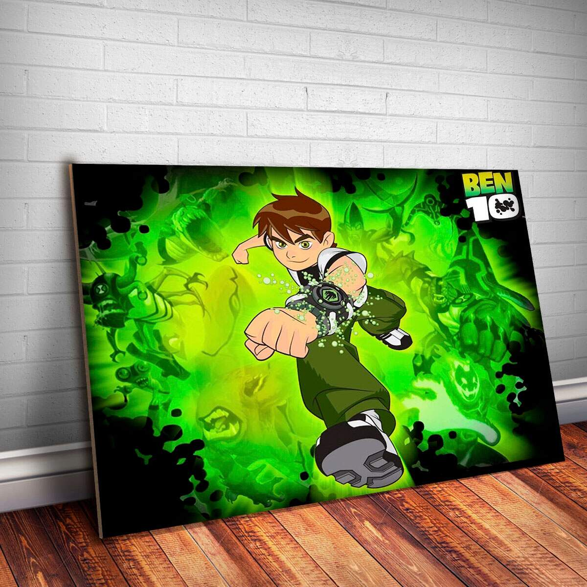 Placa Decorativa Ben 10 5