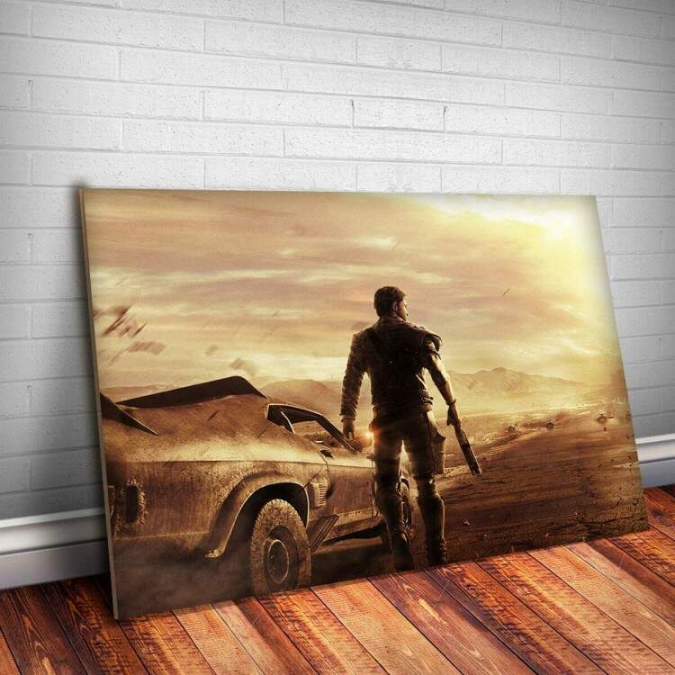 Placa Decorativa Mad Max 2