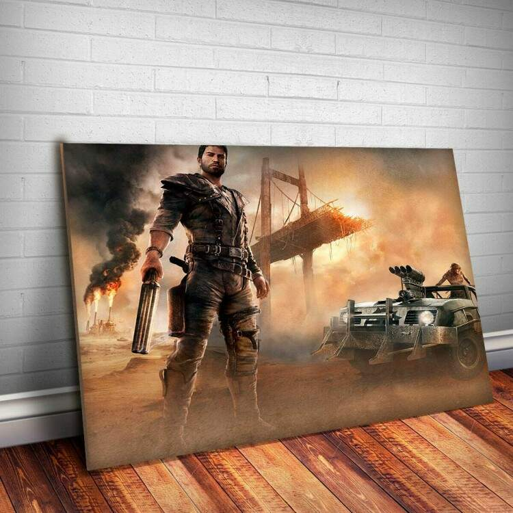 Placa Decorativa Mad Max 3