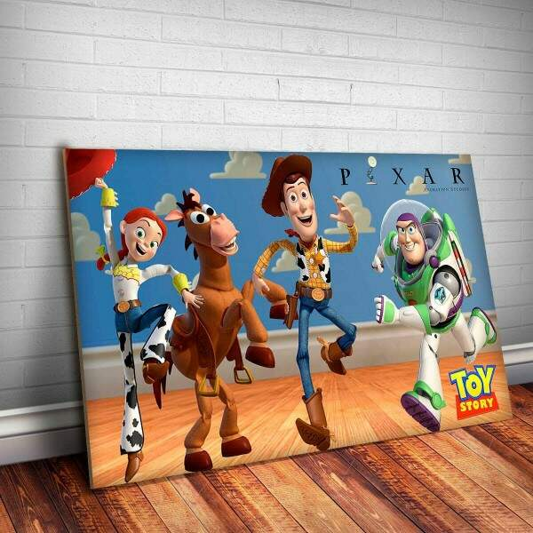 Placa Decorativa Toy Story 1