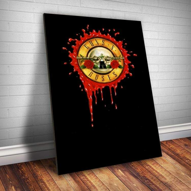 Placa Decorativa Guns n Roses 10