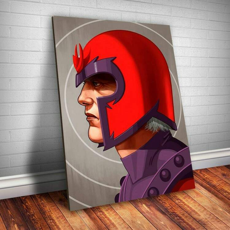 Placa decorativa Heróis Marvel 14 - Magneto