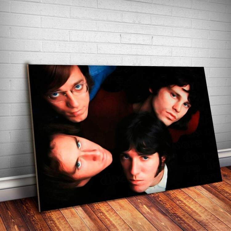 Placa Decorativa The Doors 4