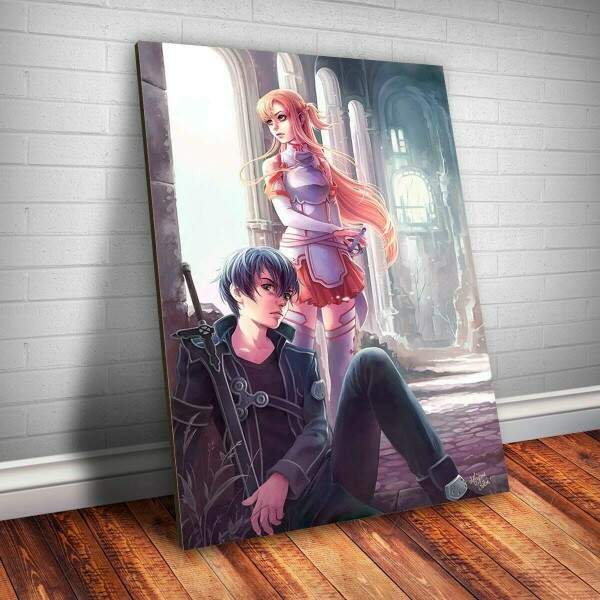 Placa Decorativa Sword Art Online 5