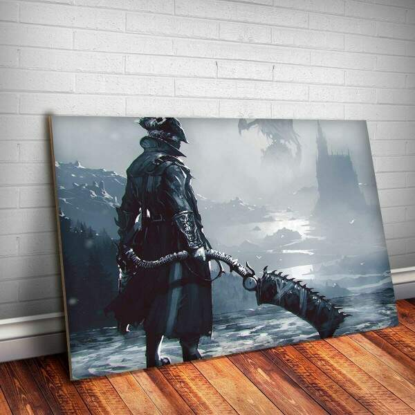 Placa Decorativa Bloodborne 1