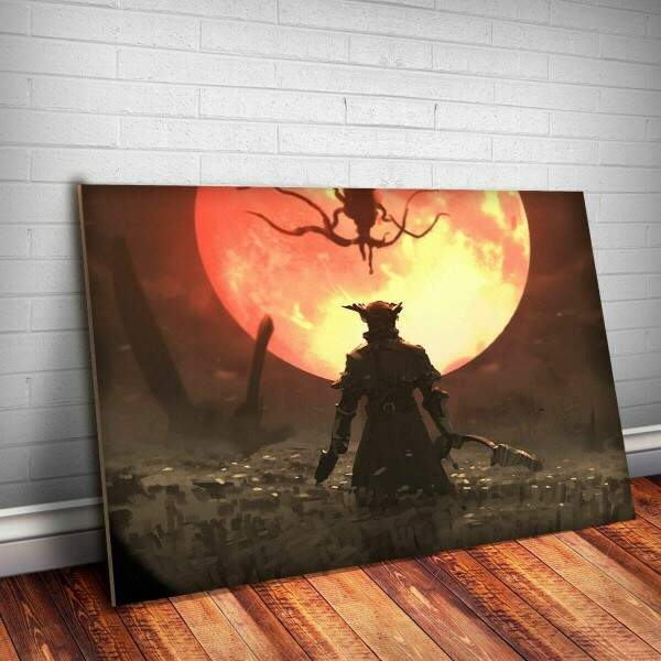 Placa Decorativa Bloodborne 4