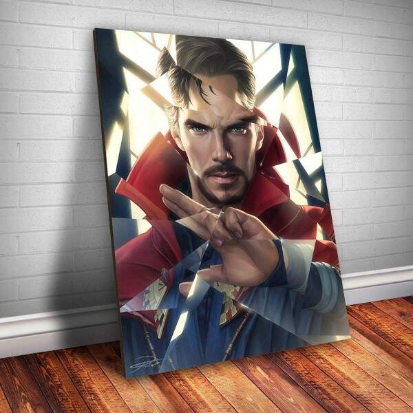 Placa decorativa Heróis 126 - Doctor Strange