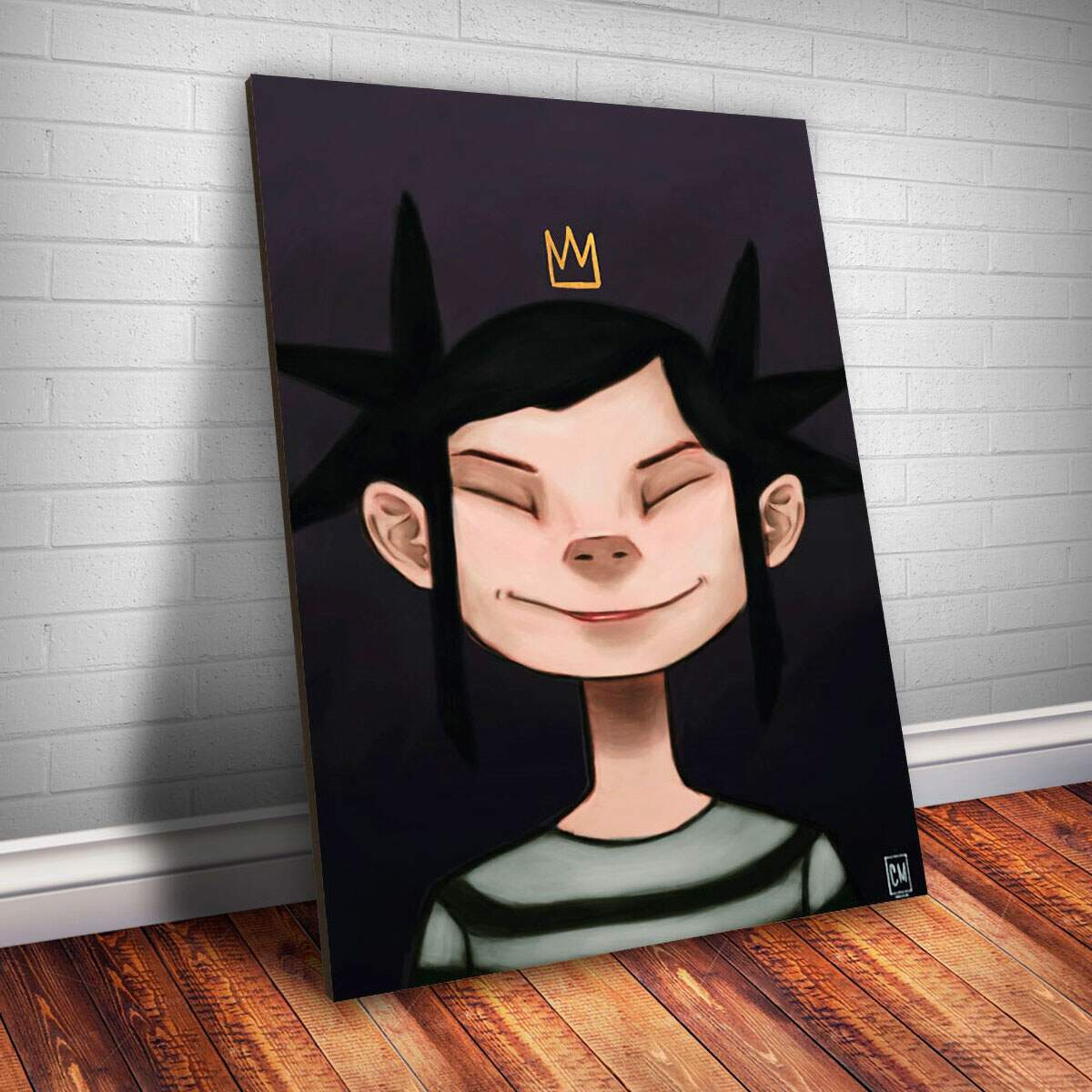Placa Decorativa Gorillaz 12