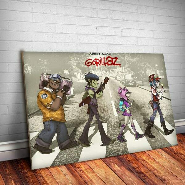 Placa Decorativa Gorillaz 27