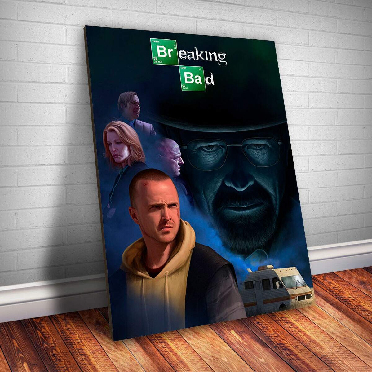 Placa Decorativa Breaking Bad 28