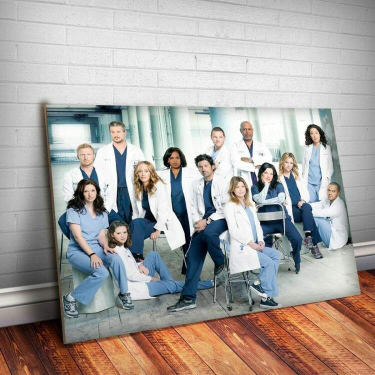 Placa Decorativa Greys Anatomy 4