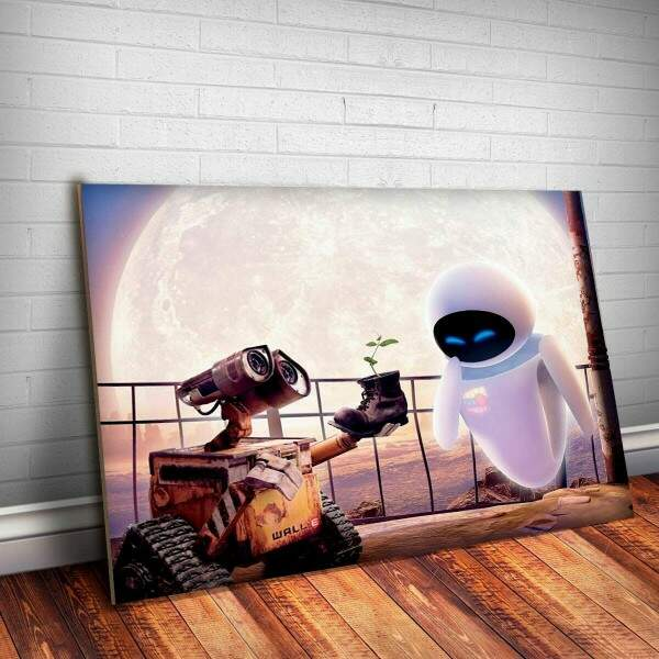 Placa Decorativa Wall-e 5