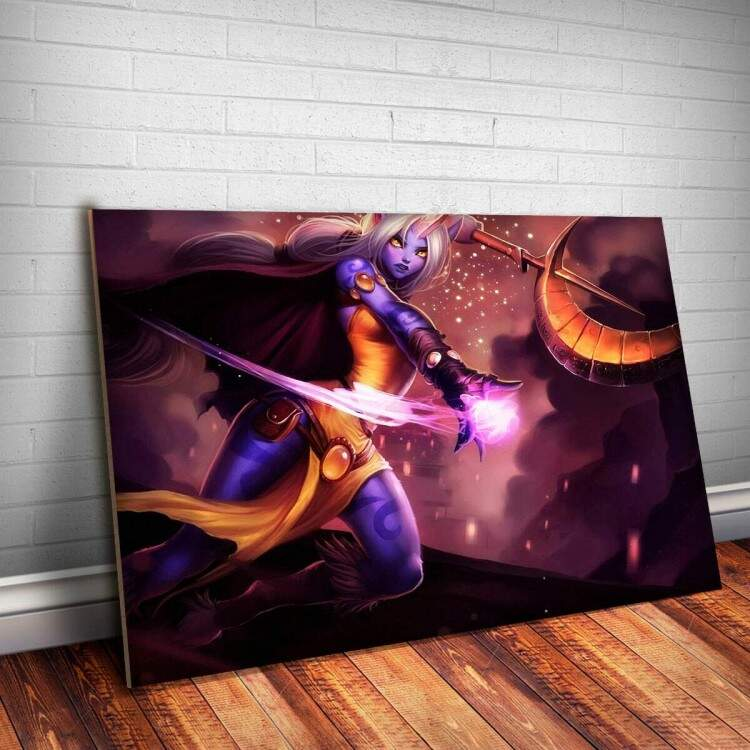 Placa Decorativa League Of Legends Soraka 2