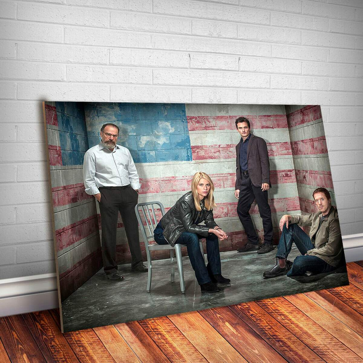 Placa Decorativa Homeland 3