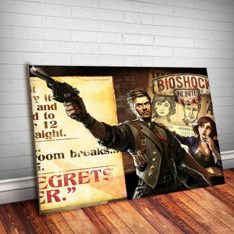 Placa Decorativa Bioshock 3