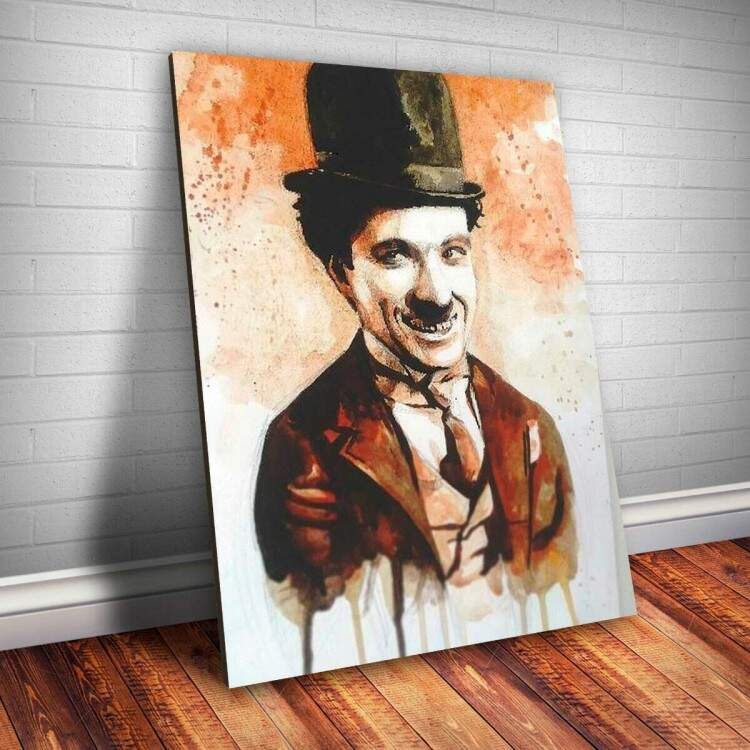 Placa Decorativa Chaplin 6