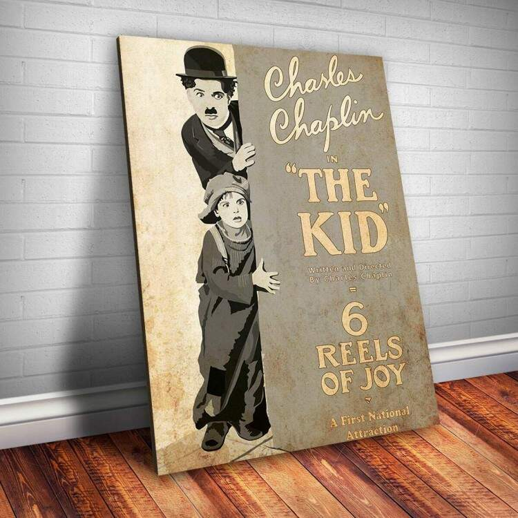 Placa Decorativa Chaplin 9