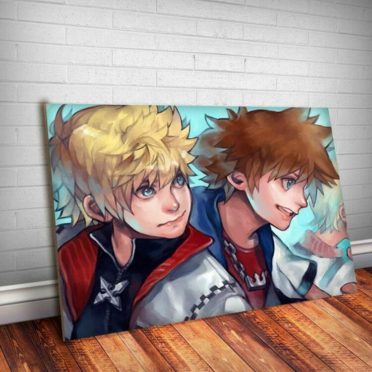 Placa Decorativa Kingdom Hearts 47