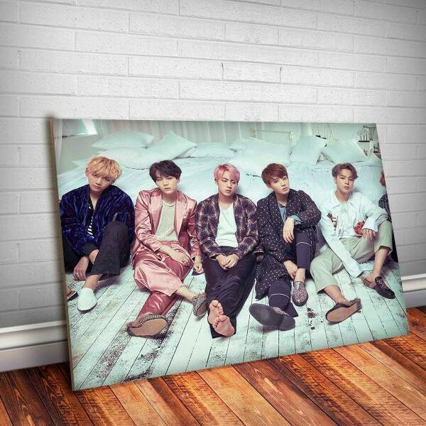 Placa Decorativa BTS 1