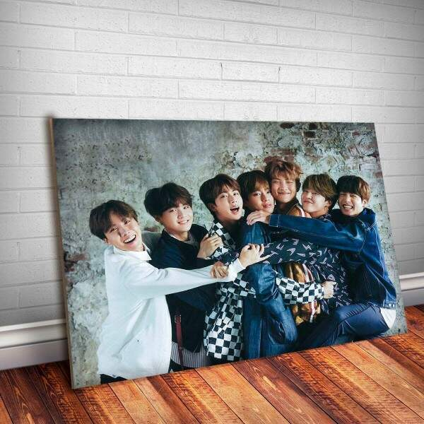 Placa Decorativa BTS 3
