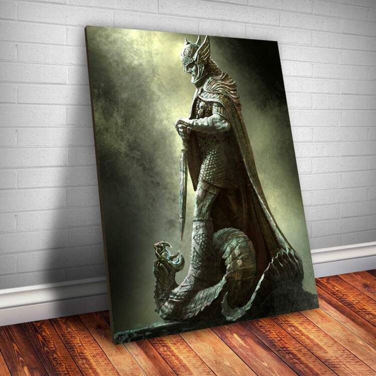 Placa Decorativa Skyrim 21
