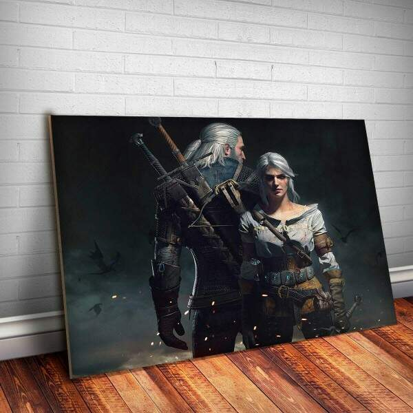 Placa Decorativa The Witcher 25