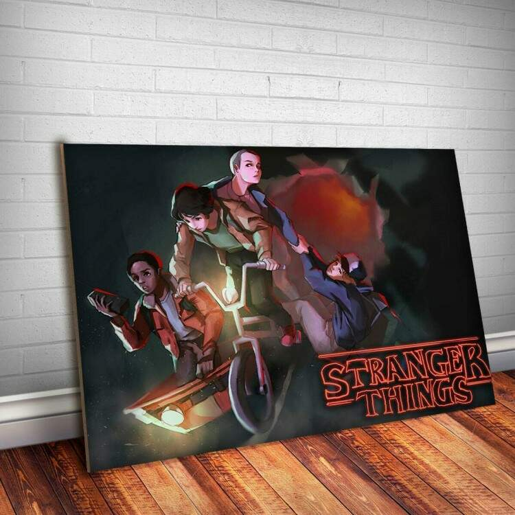 Placa Decorativa Stranger Things 23