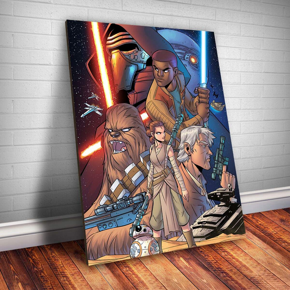 Placa Decorativa Star Wars 77