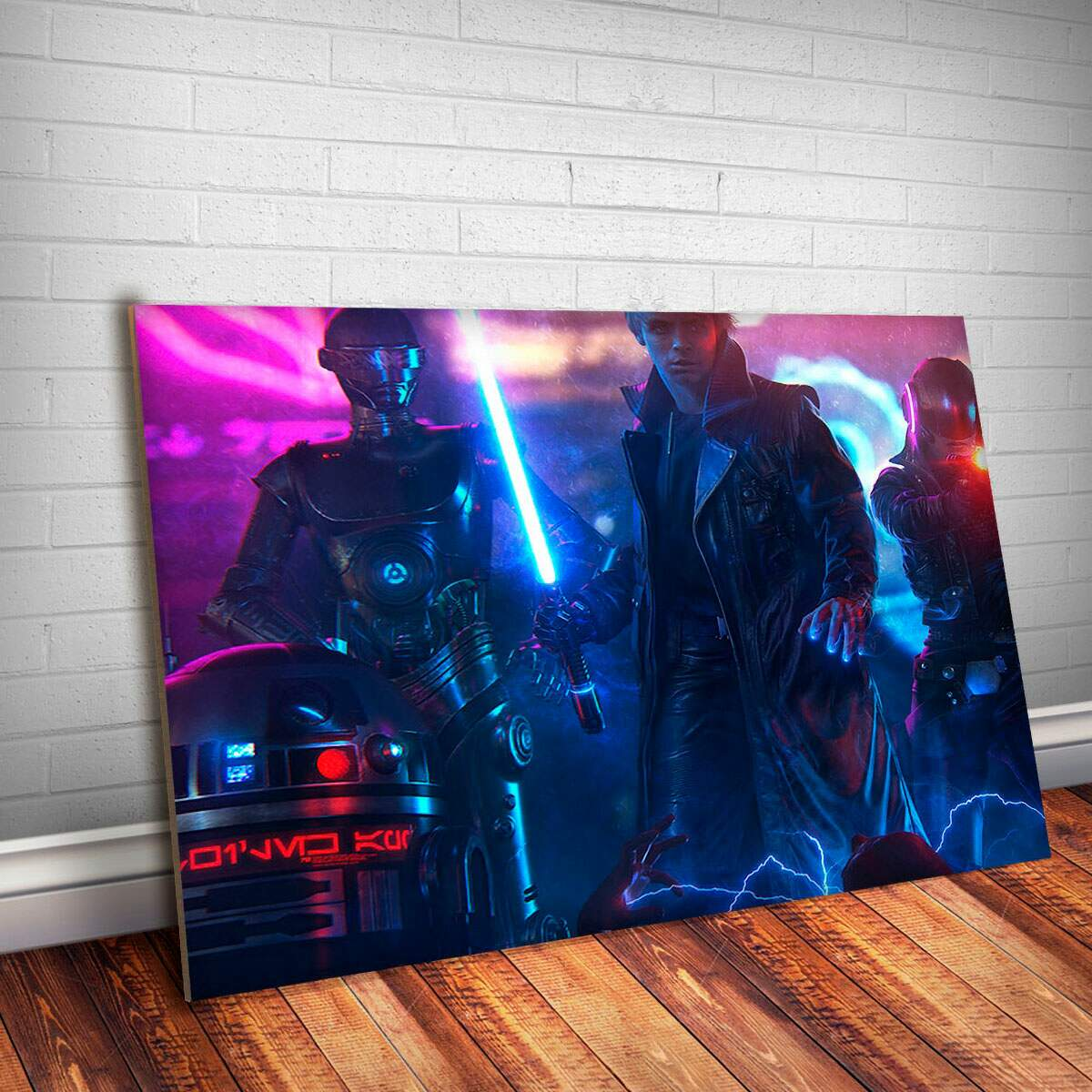 Placa Decorativa Star Wars 99