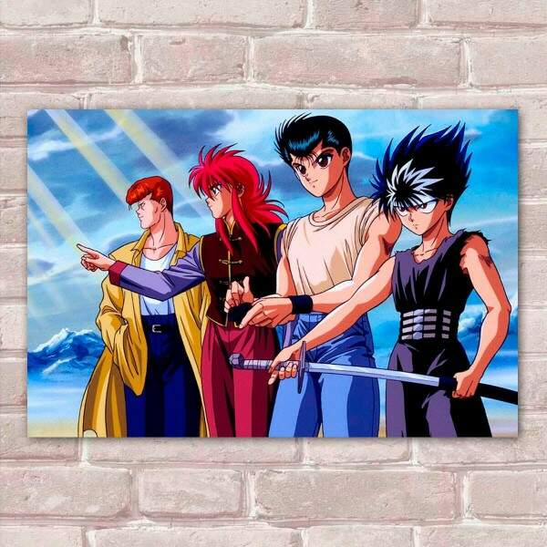 Placa Decorativa Yu Yu Hakusho 4