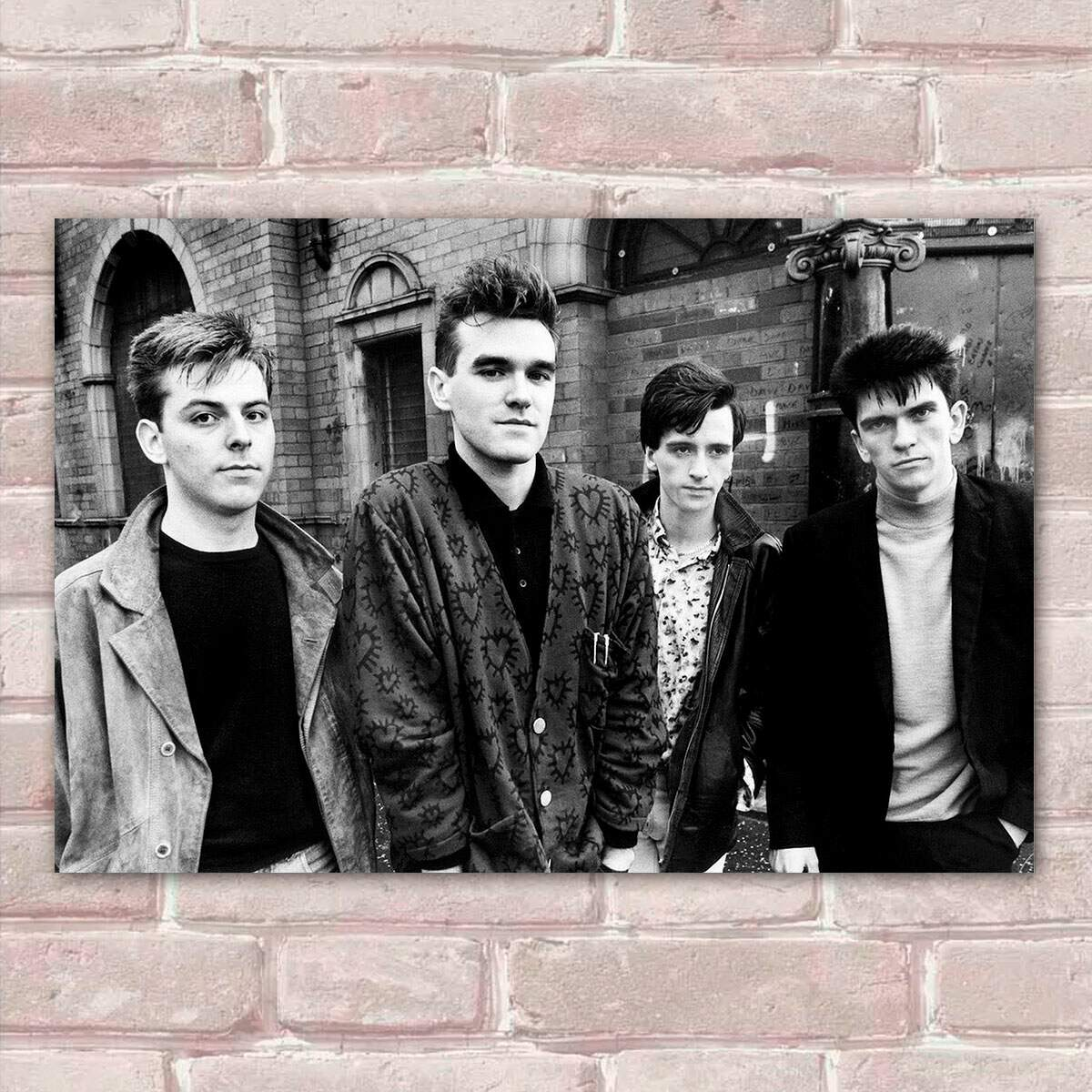 Placa Decorativa The Smiths 1