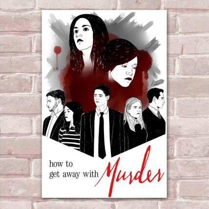 Placa Decorativa How to Get Away with Murder 2