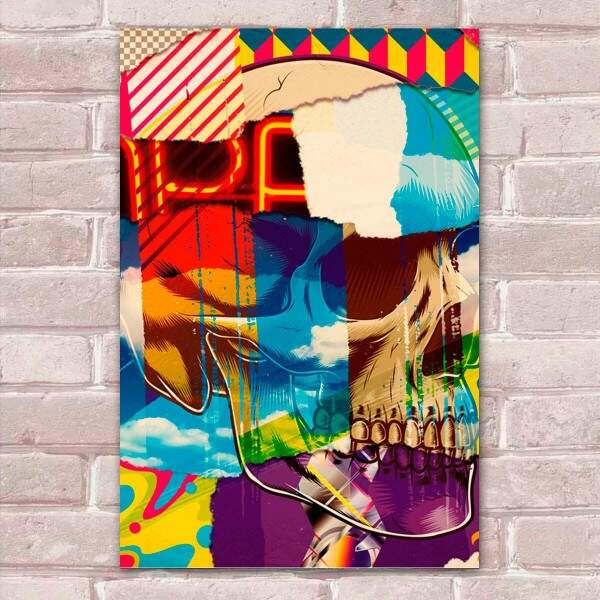 Placa Decorativa Pop Art 25