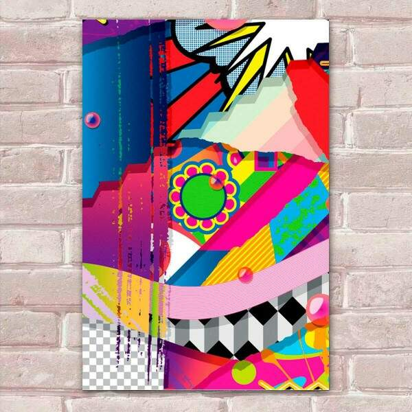 Placa Decorativa Pop Art 20
