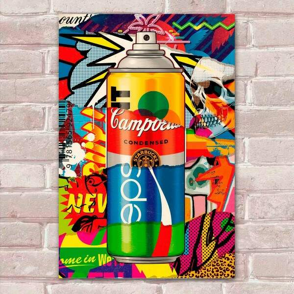 Placa Decorativa Pop Art 47